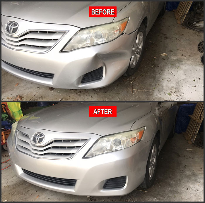 Bumper Repairs Plastic Car Bumper Repair Ky Dent Guy