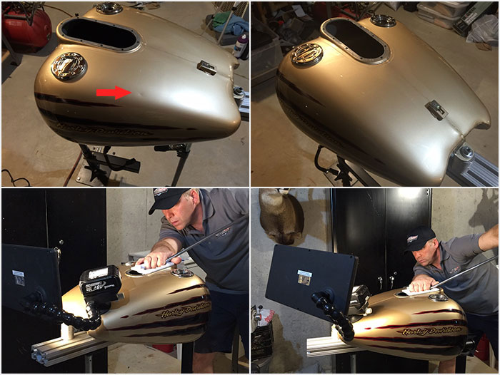 Motor Cycle Dent Repair